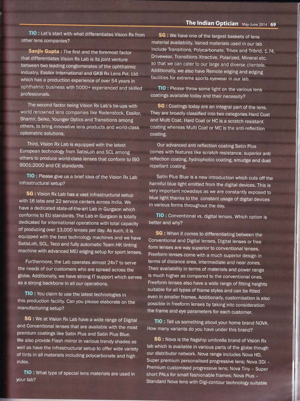 The Indian Optician page 4/6